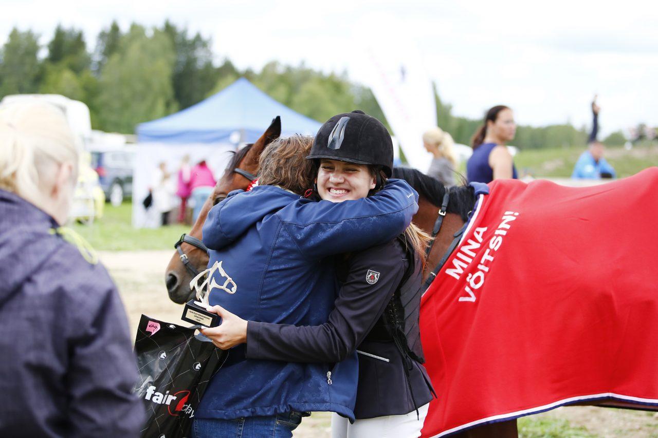 Catreen Rebeca Johanson, Juurimaa tall, väikse ringi võitja 2018