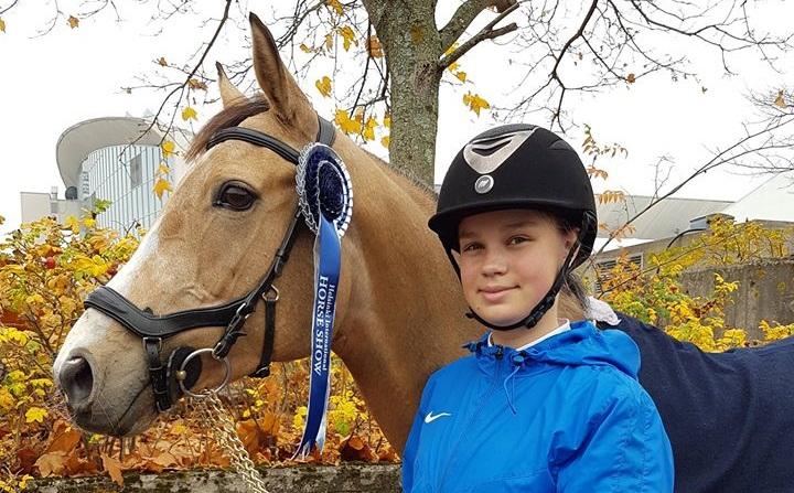 Kippen Närep ja Rosehill Fascination Helsingi Horseshowl 2018 a. Foto: Katrin Vellet