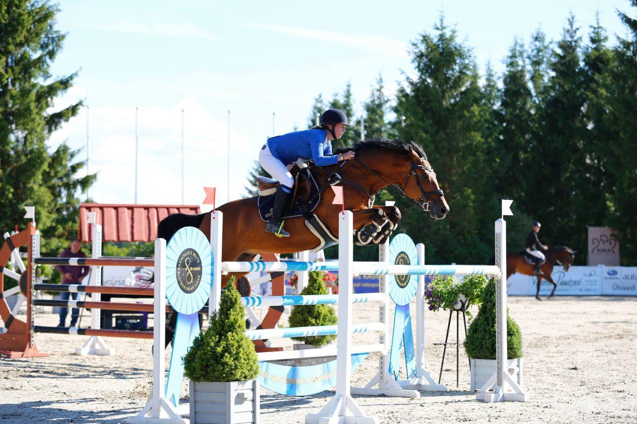 Kati Raidma hobusega Cavalier