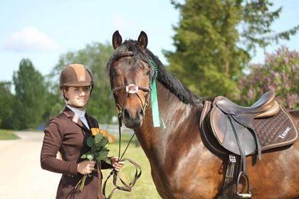 Mariann-Krõõt Mätas hobusega Kent Lakes