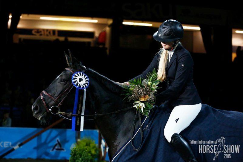 BeritLehtsaar hobusega Solei Solei.
