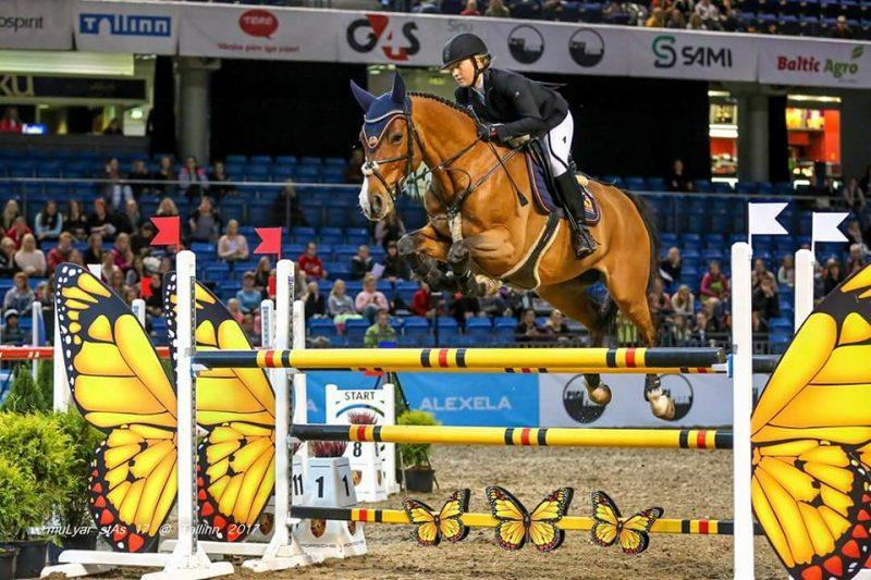 Kaia Loviisa Kink hobusega Adorable Chabalito Tallinn International Horse ShowlSaku Suurhallis. Foto: Külli Tedre-Gavrilov