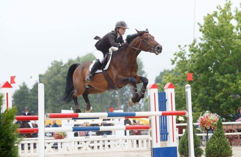 Monika hobusega Hilfiger. Foto: Celin Lannusalu
