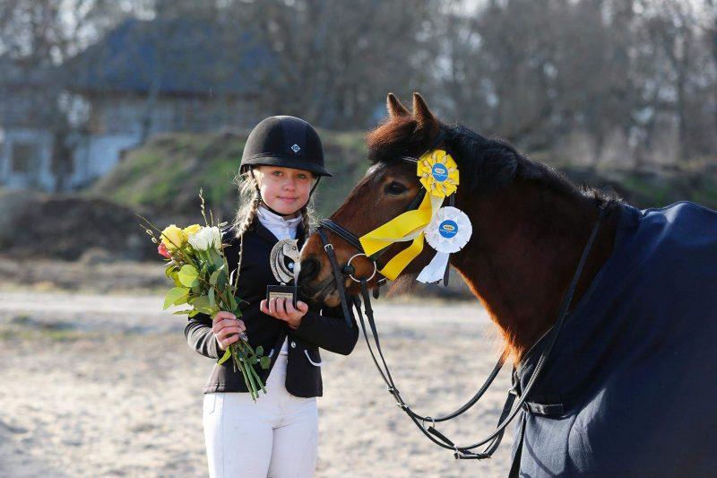 Hedi Voor-Voort unicorniga Donna. Foto: Celin Lannusalu