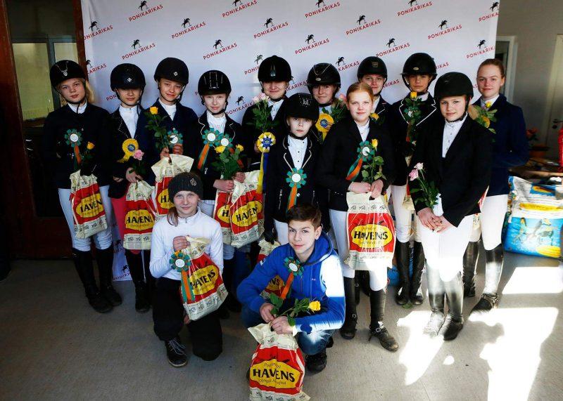 Mini Cup ja Väikese Ringi arvestuses osalejad Tondi etapil. Foto: Celin Lannusalu