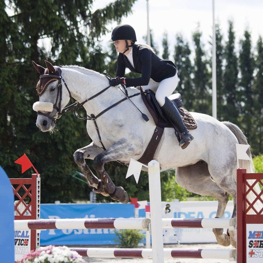 Taisi Viire hobusega Baleriin. Foto: Erakogu