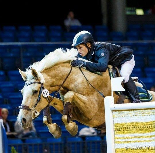 Reimo Karus ja Opadi Tallinn International Horse Showl. Foto: Külli Tedre-Gavrilov
