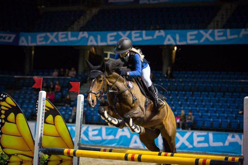 Tallinn International Horse Show Saku Suurhallis. A: Celin Lannusalu